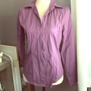 Purple Long Sleeved Button Down